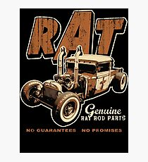 RAT - Pipes Photographic Print