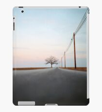 A Lonely Tree on a Long Road iPad Case/Skin