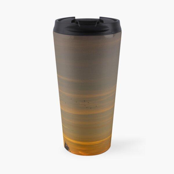 Sunset crows Travel Mug