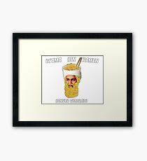 Osama Bin Ramen Framed Print