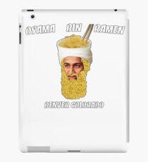 Osama Bin Ramen iPad Case/Skin