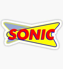 SONIC aMERICAN dRIVE fOOD IN Sticker
