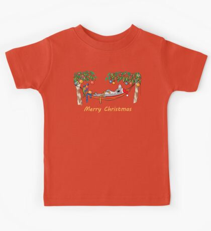 Koala Relaxing Hammock - Merry Christmas Kids Clothes