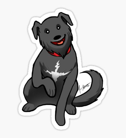 Lab Mix Sticker