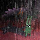 Schatten eines Hasen von Marianna Tankelevich