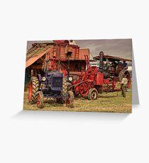 Fordson Baler  Greeting Card