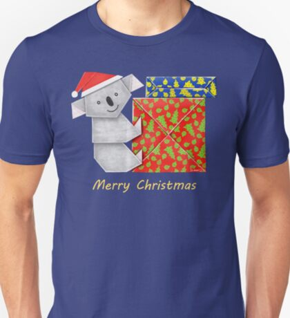 Koala Origami and its mystery Christmas Gift boxes T-Shirt
