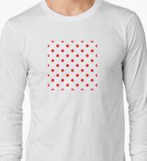 Polka dot fabric Retro vector background or pattern Long Sleeve T-Shirt