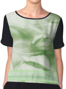 Garden II Women's Chiffon Top