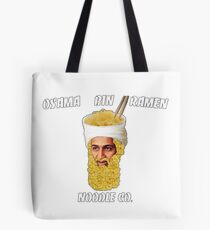 Osama Bin Ramen Noodle Co. Tote Bag
