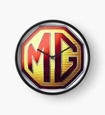 MG Logo Clock