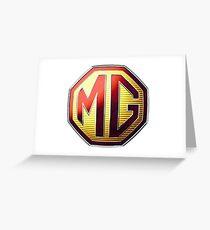 MG Logo Greeting Card