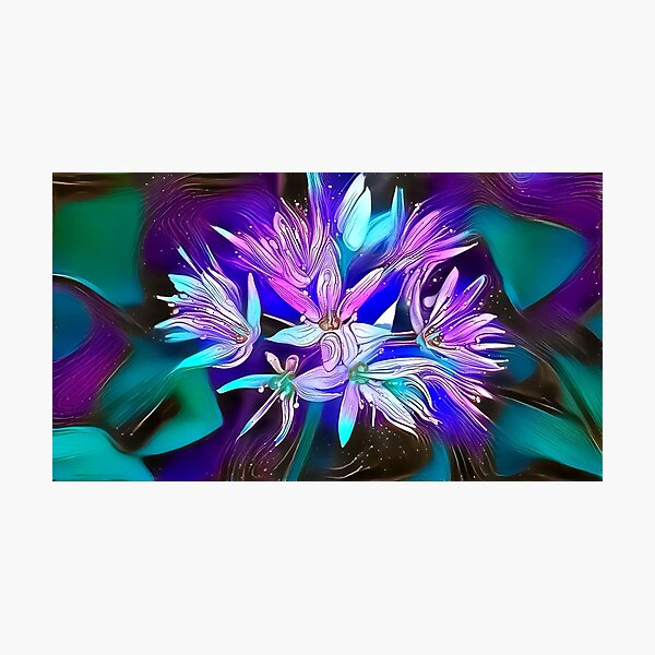 Wild Garlic Photographic Print
