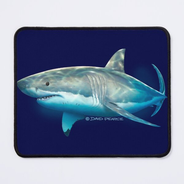 Neptune White Mouse Pad