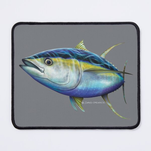 Yellowfin Tuna Mouse Pad