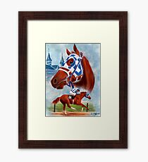 Secretariat Triple Crown Winner Framed Print