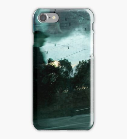 The monoped and his unicycle iPhone Case/Skin