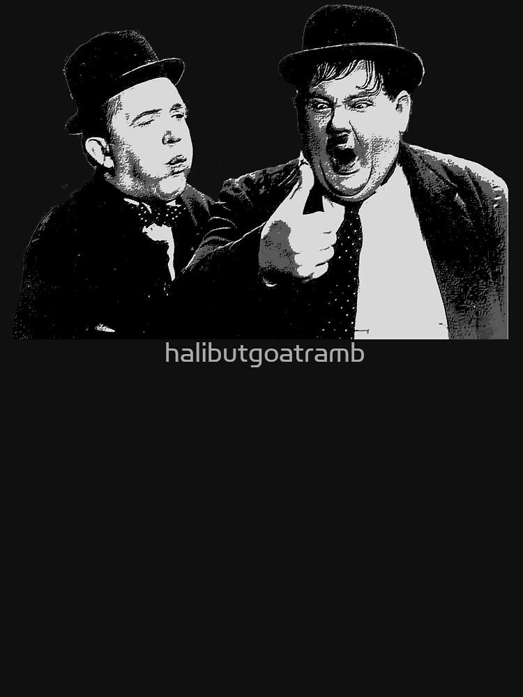 Laurel and Hardy by halibutgoatramb