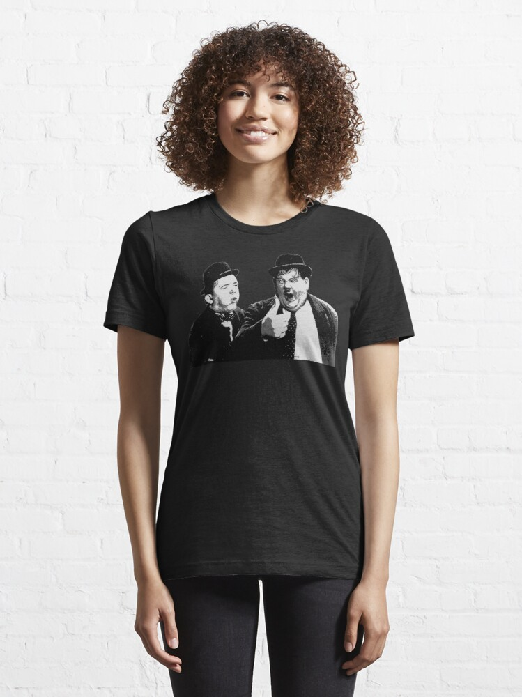 Alternate view of Laurel and Hardy Essential T-Shirt
