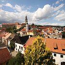 Cesky Krumlov Old Town and Castle by Elena Skvortsova