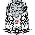ROGUE TRIBAL WOLF by Rogueclothes