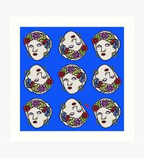 The Greek gipsy pattern Art Print