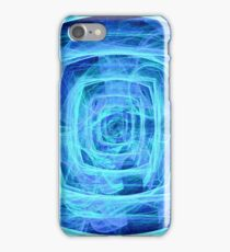 Blue Vortex - Apophysis 7 iPhone Case/Skin