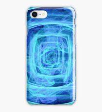 Blue Vortex - Apophysis 7 iPhone Case/Skin