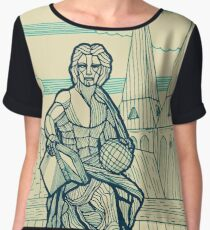 Berlin - Allegory of Science Chiffon Top