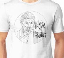 Shave for Sherlock (Lineart) Unisex T-Shirt