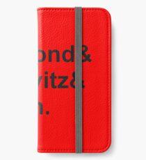 diamond horovitz yauch iPhone Wallet/Case/Skin