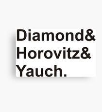 diamond horovitz yauch Canvas Print