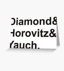 diamond horovitz yauch Greeting Card