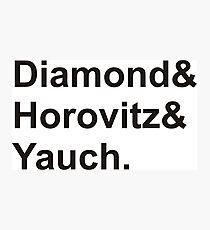 diamond horovitz yauch Photographic Print