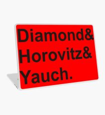 diamond horovitz yauch Laptop Skin