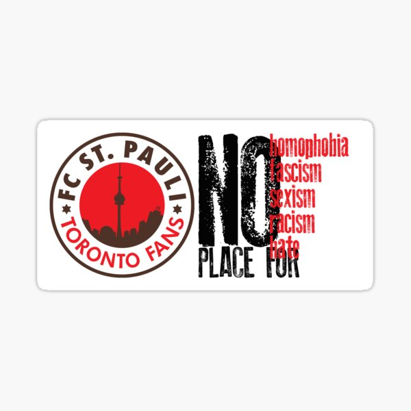 NO PLACE FOR Sticker