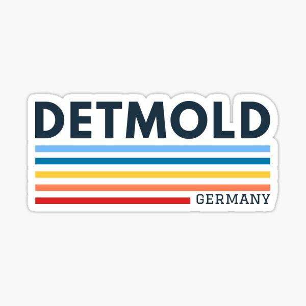 Detmold Deutschland Sticker