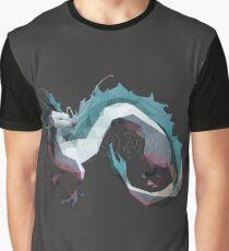 Haku (Dragon) - Spirited Away Graphic T-Shirt