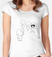 Rhythm Heaven Choir Women's Fitted Scoop T-Shirt