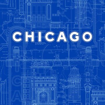Chicago Icons by DavidTribby