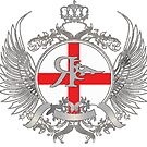 ROGUE UK ENGLAND BADGE by Rogueclothes