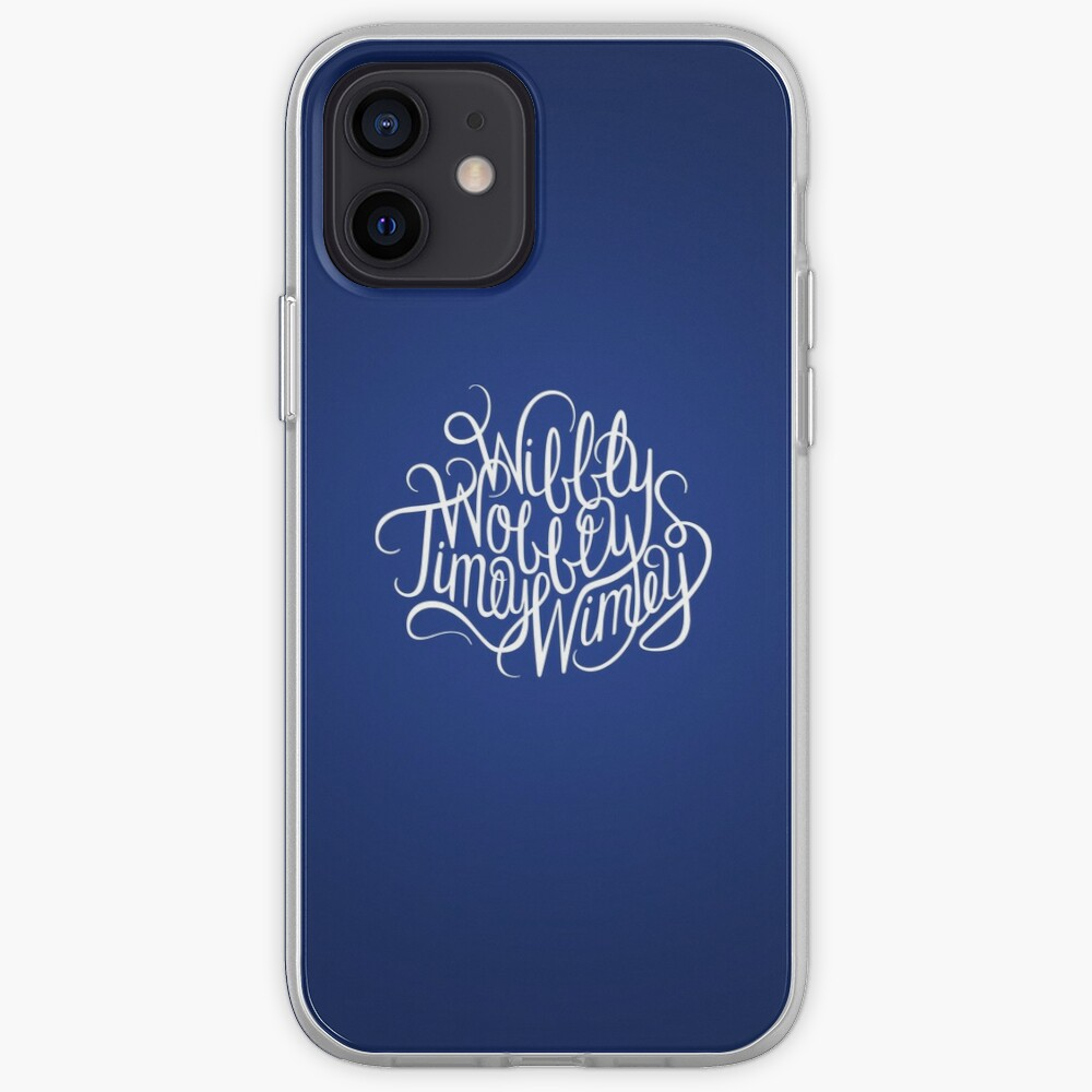 Wibbly Wobbly White iPhone Case & Cover