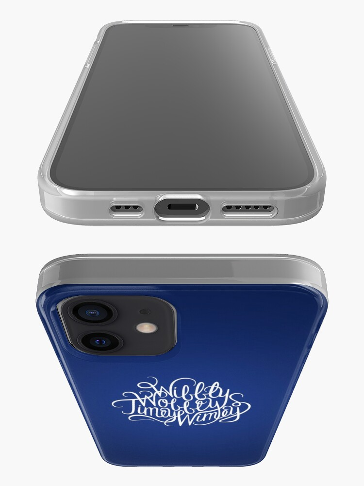 Alternate view of Wibbly Wobbly White iPhone Case & Cover