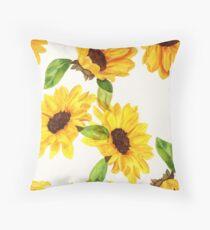 Sonnenblumen Dekokissen