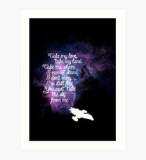 Firefly theme (The Ballad of Serenity) Art Print