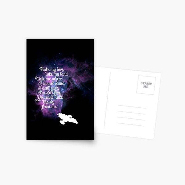 Tema de Firefly (La balada de la serenidad) Postal