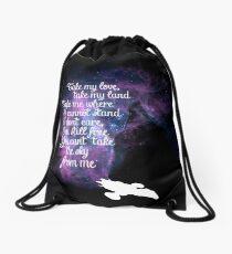 Firefly theme (The Ballad of Serenity) Drawstring Bag