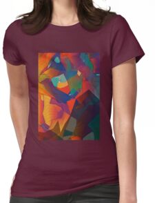 The Rocks by the Lighthouse Womens Fitted T-Shirt
