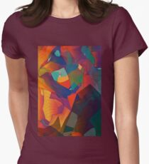 The Rocks by the Lighthouse Women's Fitted T-Shirt