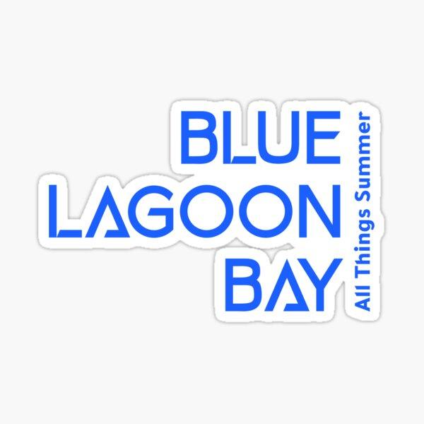 Blue Lagoon Bay All Things Summer Sticker